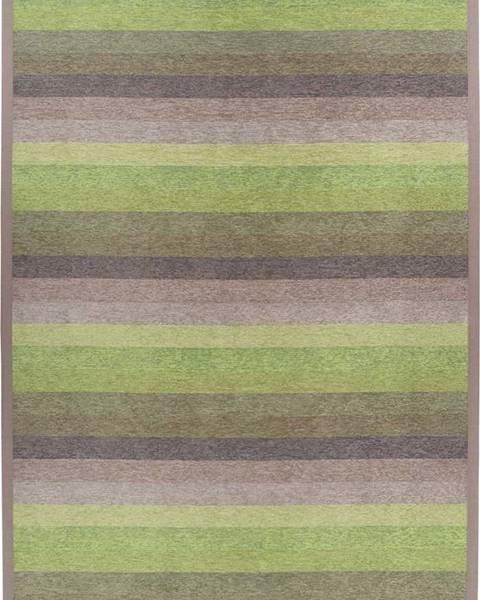 Narma Zelený oboustranný koberec Narma Luke Green, 200 x 300 cm