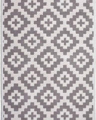 Béžový bavlněný koberec Vitaus Art, 80x150cm