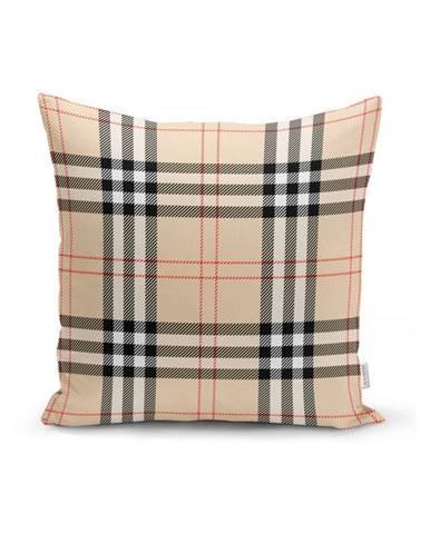 Béžový dekorativní povlak na polštář Minimalist Cushion Covers Burberry,35x55cm