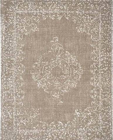 Béžový koberec LABEL51 Vintage, 160x140cm