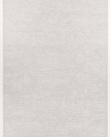 Bílý oboustranný koberec Narma Palmse White, 80 x 250 cm