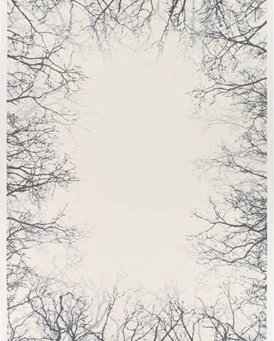 Bílý oboustranný koberec Narma Pulse White, 200 x 300 cm