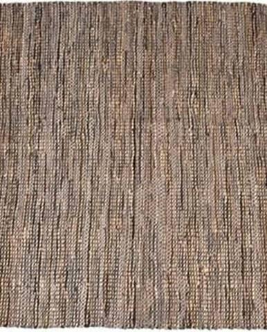 Hnědý koberec LABEL51 Brisk, 140x160cm