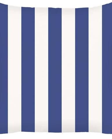 Modrý povlak na polštář Mike&Co.NEWYORK Sail Stripes, 43 x 43 cm