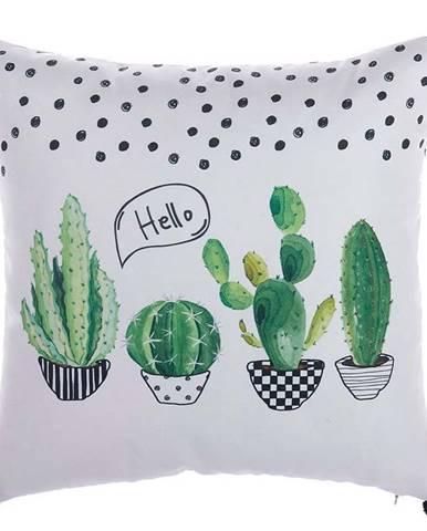 Povlak na polštář Mike&Co.NEWYORK Hello Cactus, 43 x 43 cm