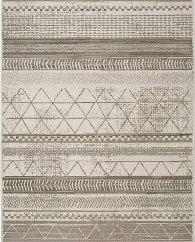 Šedobéžový venkovní koberec Universal Libra Grey Puzzo, 160 x 230 cm