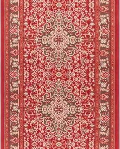 Světle červený koberec Nouristan Skazar Isfahan, 80 x 250 cm