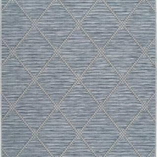 Modrý venkovní koberec Universal Cork, 130 x 190 cm