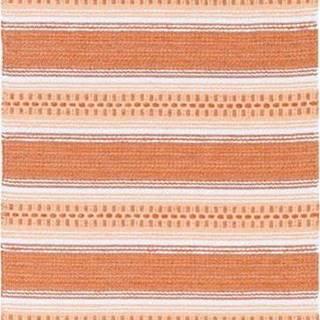 Oranžový běhoun vhodný do exteriéru Narma Runo, 70x200cm