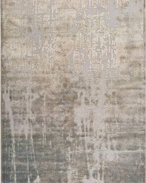 Universal Béžový koberec z viskózy Universal Margot Azul, 60 x 110 cm