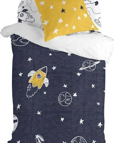 Mr. Fox Dětské bavlněné povlečení na jednolůžko Mr. Fox Starspace,140x200cm