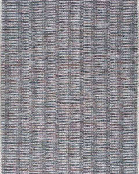 Universal Modrý venkovní koberec Universal Bliss, 75 x 150 cm