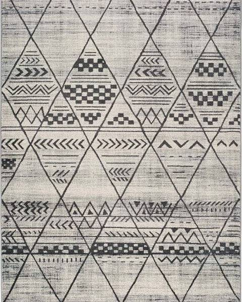 Universal Šedý koberec Universal Adra Gresso, 133 x 190 cm
