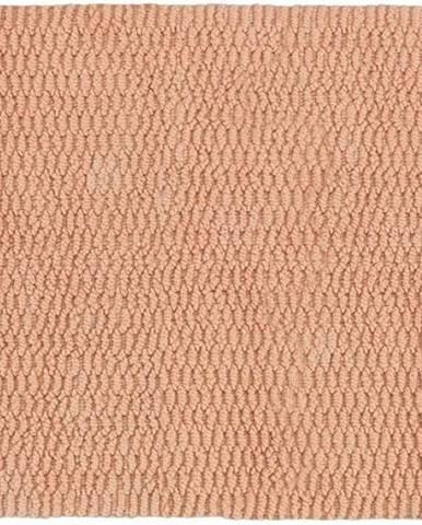 Hnědá koupelnová předložka Wenko Mona, 80x50cm