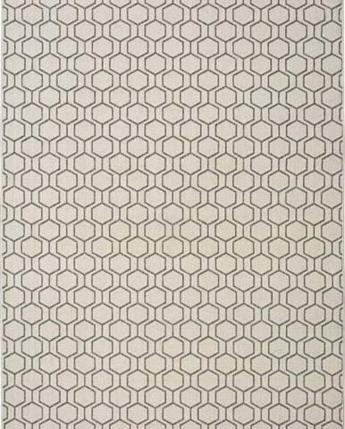 Šedobéžový venkovní koberec Universal Clhoe, 140 x 200 cm