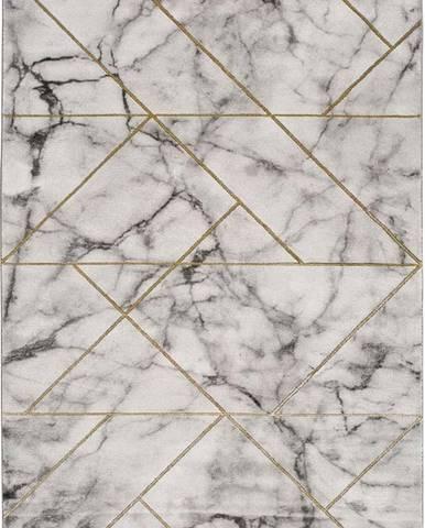 Šedý koberec Universal Norah Grisso, 140 x 200 cm