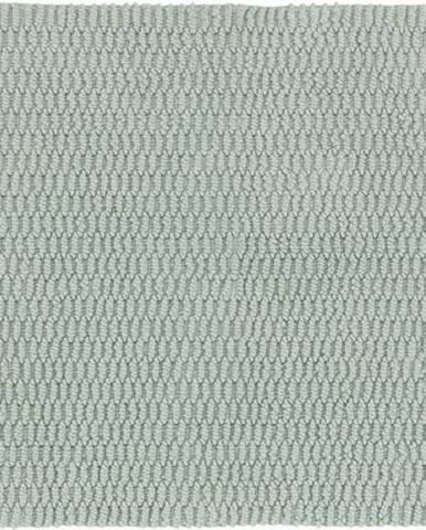Světle zelená koupelnová předložka Wenko Mona, 80x50cm