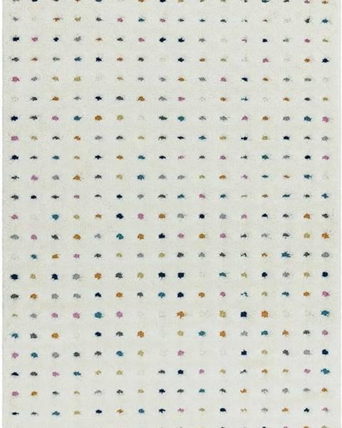 Asiatic Carpets Béžový koberec Asiatic Carpets Dotty Multi, 80 x 150 cm