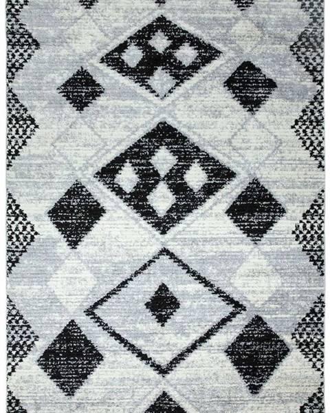 Asiatic Carpets Šedý koberec Asiatic Carpets Layla, 120 x 170 cm