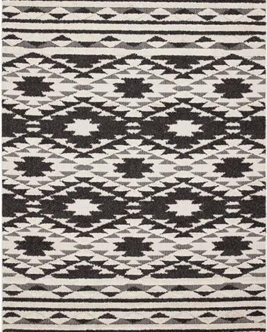 Černo-bílý koberec Asiatic Carpets Taza, 200 x 290 cm