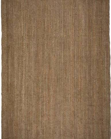 Hnědý jutový koberec Flair Rugs Jute, 120 x 170 cm