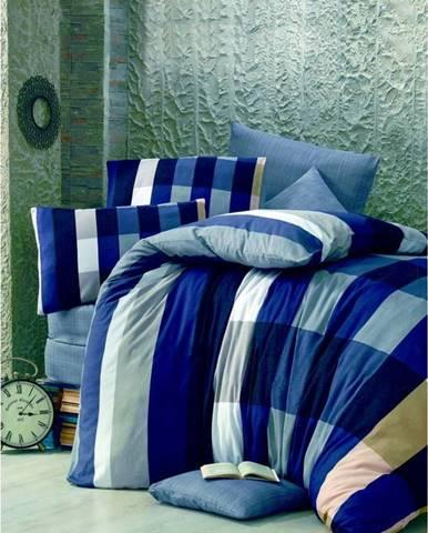 Povlečení na jednolůžko Parro Azul, 140 x 200 cm