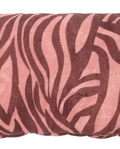 Růžový zahradní polštář Hartman Lena, 30x50cm