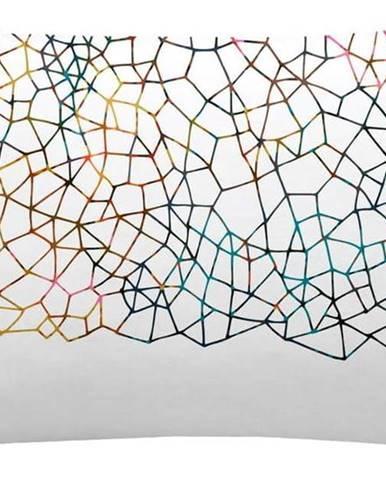 Sada 2 bavlněných povlaků na polštář Blanc Net, 50x75cm