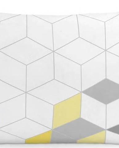 Sada 2 bavlněných povlaků na polštář Blanc Symmetry, 50x75cm