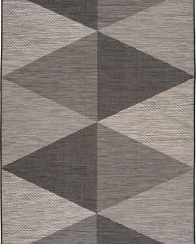 Šedý venkovní koberec Universal Biorn Grey, 130 x 190 cm