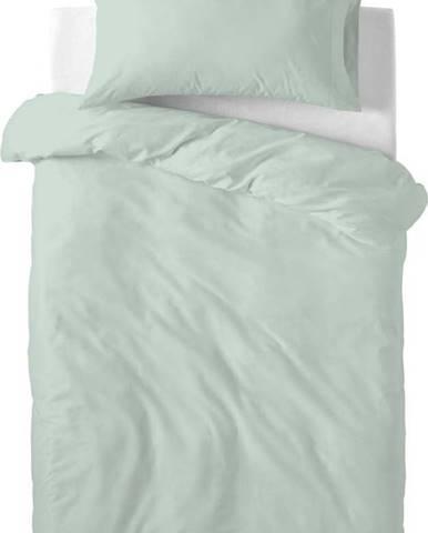 Světle zelené dětské bavlněné povlečení Happy Friday Basic, 115x145cm
