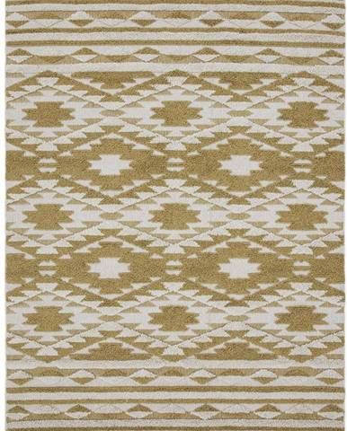 Žlutý koberec Asiatic Carpets Taza, 200 x 290 cm