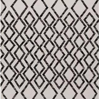 Béžovo-černý koberec Asiatic Carpets Hackney Diamond, 160 x 230 cm