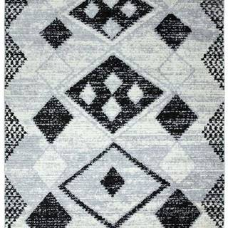 Šedý koberec Asiatic Carpets Layla, 120 x 170 cm