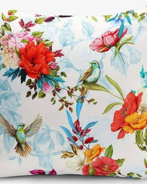 Minimalist Cushion Covers Povlak na polštář s příměsí bavlny Minimalist Cushion Covers Ethnic Bird, 45 x 45 cm