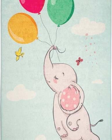 Dětský koberec Balloons, 140x190cm