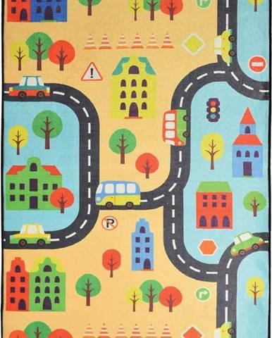 Dětský koberec Road, 140x190cm