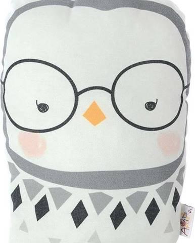 Dětský polštářek s příměsí bavlny Mike&Co.NEWYORK Pillow Toy Argo Birdie, 17 x 27 cm
