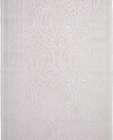 Krémový bavlněný koberec Vitaus Osmanli, 80x150cm