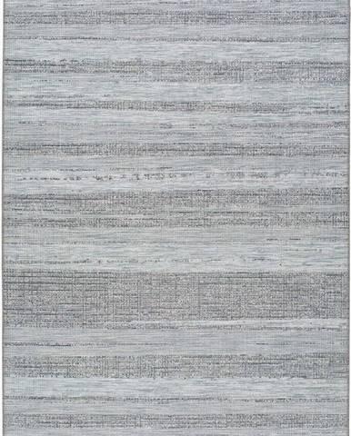 Modrý venkovní koberec Universal Macao Sinto, 77x150cm