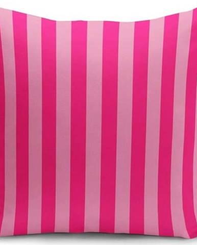 Povlak na polštář Minimalist Cushion Covers Pinkie Stripes, 45 x 45 cm