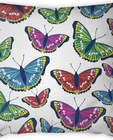 Povlak na polštář Vitaus Butterflies, 43 x 43 cm