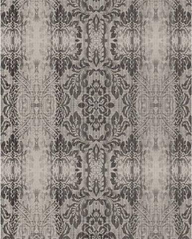 Šedobéžový koberec Vitaus Becky, 120 x 180 cm