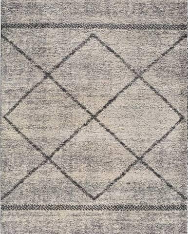 Šedý koberec Universal Kasbah Gris, 160 x 230 cm