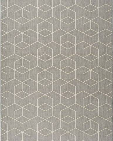 Šedý venkovní koberec Universal Silvana Gusmo, 120x170cm