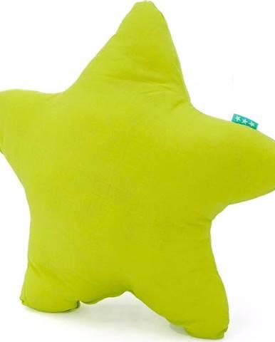 Zelený bavlněný polštářek Happy Friday Basic Estrella Green, 50x50cm