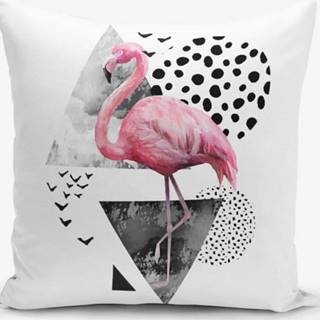 Povlak na polštář Minimalist Cushion Covers Martı Flamingo, 45x45cm