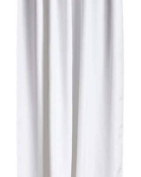Zone Bílý sprchový závěs Zone Lux