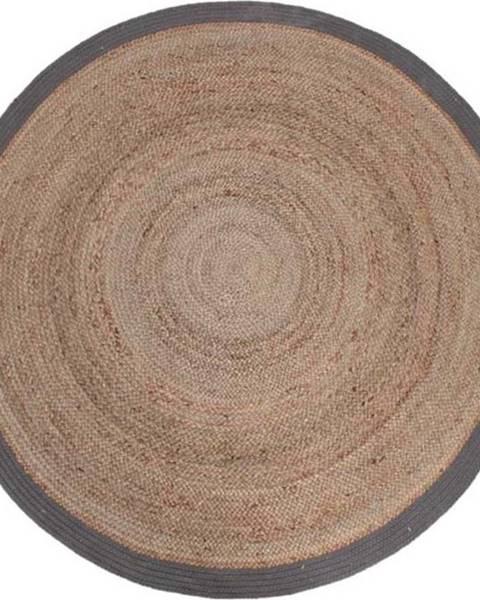 LABEL51 Koberec z konopného vlákna LABEL51 Rug, ⌀150 cm