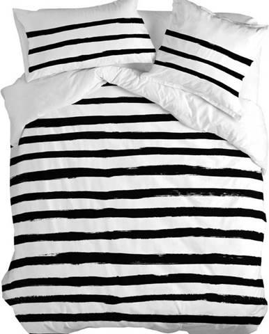 Bavlněný povlak na peřinu Blanc Stripes, 140x200cm